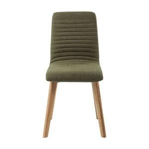 Oliwkowe krzesło Kare Design Lara