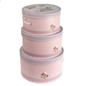 Zestaw 3 pudełek Cake Design