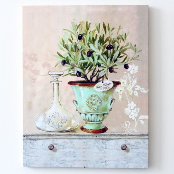 Obraz na płótnie Kwiat w wazonie