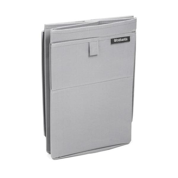 Szary pojemnik na pranie Brabantia Hit Grey, 35l