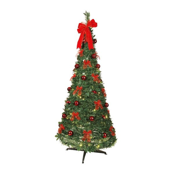 Świecąca dekoracja Red Christmas, 190 cm
