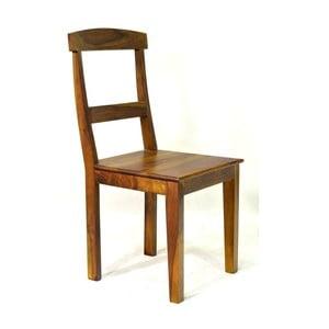 Krzesło z palisandru Goa, miodowe