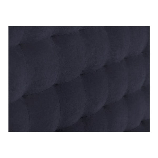Ciemnoniebieski zagłówek łóżka Windsor & Co Sofas Nova, 140x120 cm