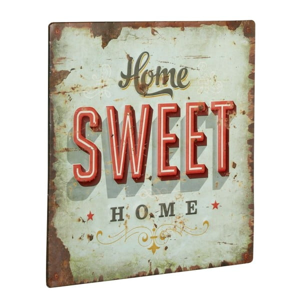 Tablica Home sweet home, 30x30 cm