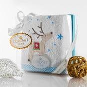 Ręcznik w opakowaniu podarunkowym Christmas V12, 50x90 cm