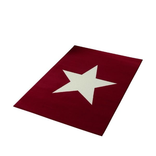 Czerwony dywan dziecięcy Hanse Home City & Mix, 140x200 cm