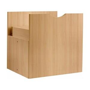 Brązowa szuflada do regału Støraa Kiera, 33x33cm