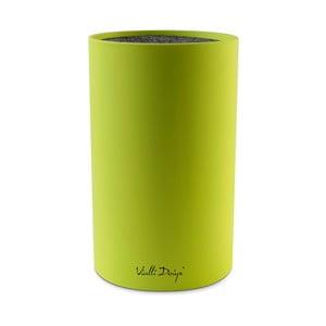 Zielony stojak na noże Vialli Design Universal