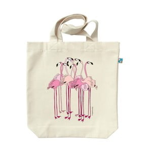 Torba płócienna Flamingi
