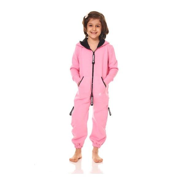 Różowy dziecięcy kombinezon domowy Streetfly, 2-3 lata