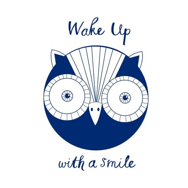 Poszewka na poduszkę Wake Up Owl, 52x72 cm