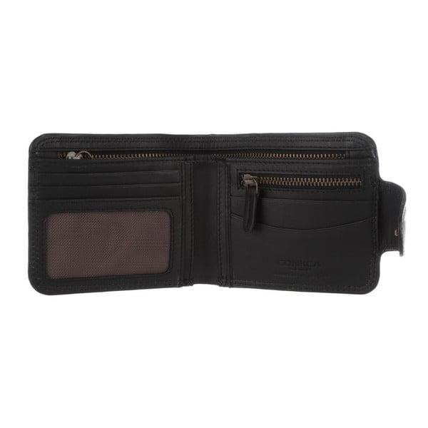 Skórzany portfel Clark Vintage Black