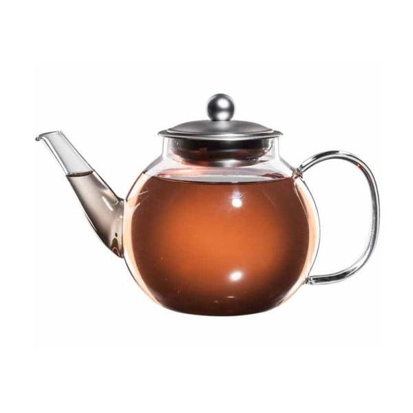 Szklany   dzbanek na herbatę z sitkiem bloomix Mao Feng