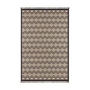 Beżowo-czarny dywan Hanse Home Intense Luro, 80x150 cm