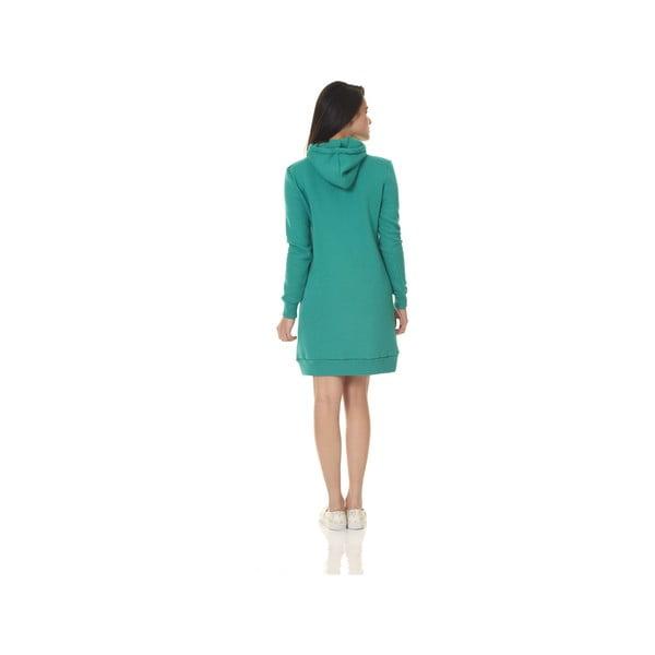 Domowa długa bluza Streetfly Emerald, M