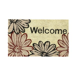 Wycieraczka Welcome flowers, 45x75 cm