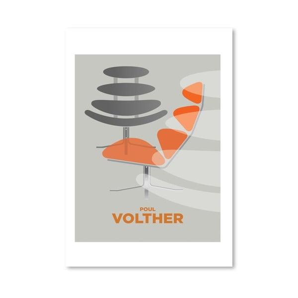 """Plakat autorski """"Poul Volther"""""""