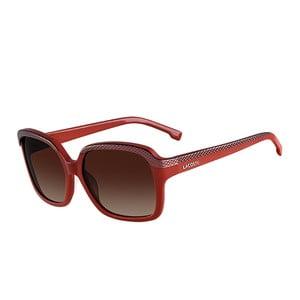 Damskie okulary przeciwsłoneczne Lacoste L696 Red