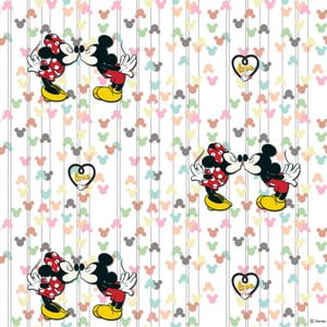 Tapeta flizelinowa AG Design Mickey & Minnie, 10m