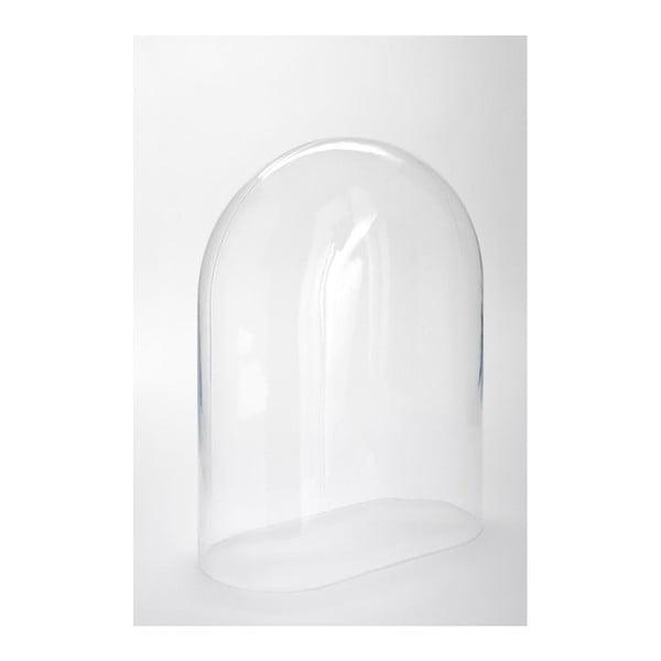Szklana pokrywa Oval, 30x15,5x40 cm