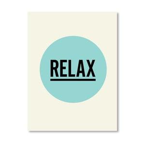 "Plakat ""Relax"", 42x60 cm"