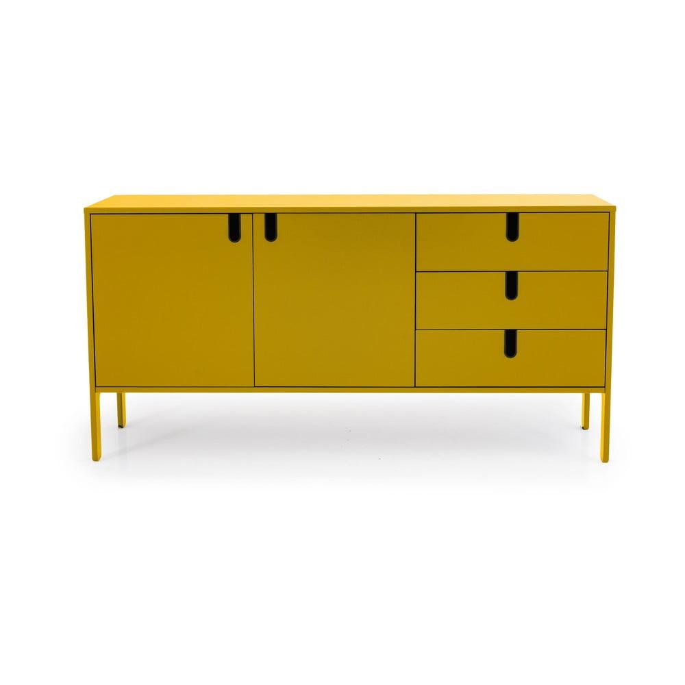 Żółta komoda Tenzo Uno, szer. 171 cm