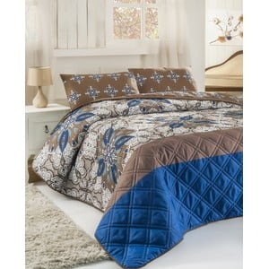 Pikowana narzuta i 2 poszewki na poduszki Double 282, 200x220 cm