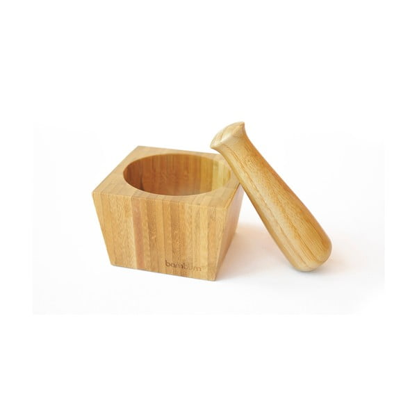 Bambusowy moździerz Bambum Cotta
