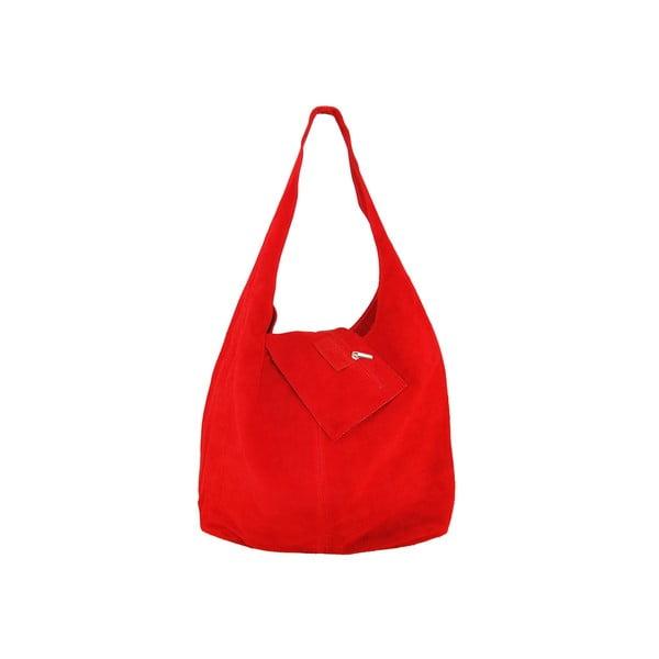 Skórzana torebka Blurisa Rosso