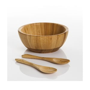 Bambusowa miseczka i sztućce Bambum Babilo