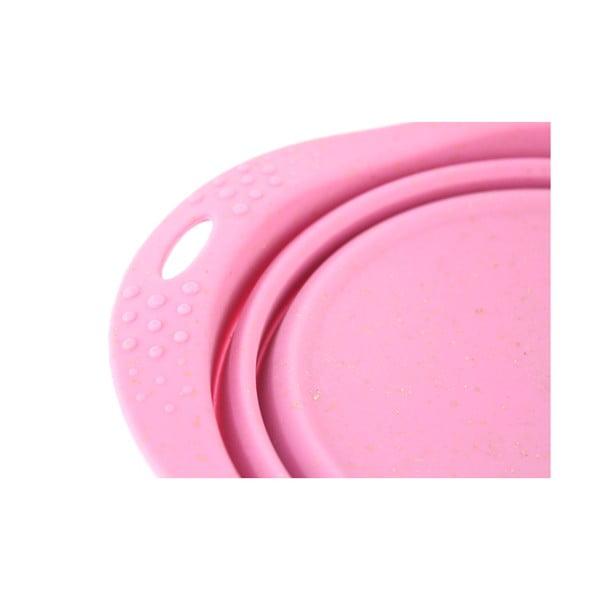 Miska turystyczna Beco Travel Bowl 18.5 cm, różowa