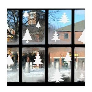 Świąteczna naklejka elektrostatyczna Fanastick Bright White Christmas Trees