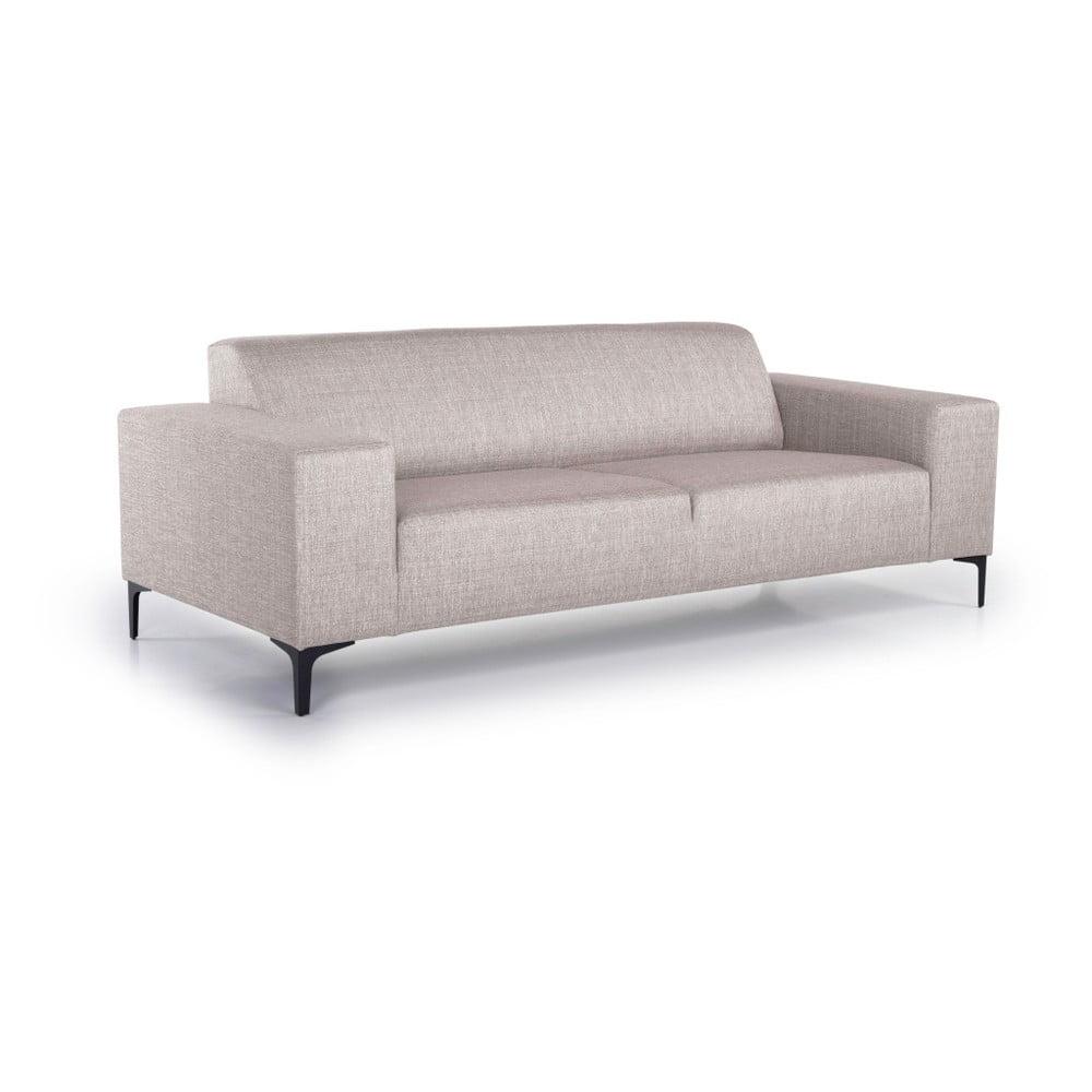 Beżowa sofa Scandic Diva, 216 cm