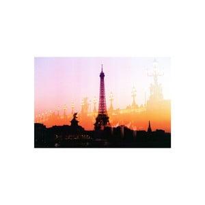 Obraz Summer in Paris Orange, 41 x 61 cm