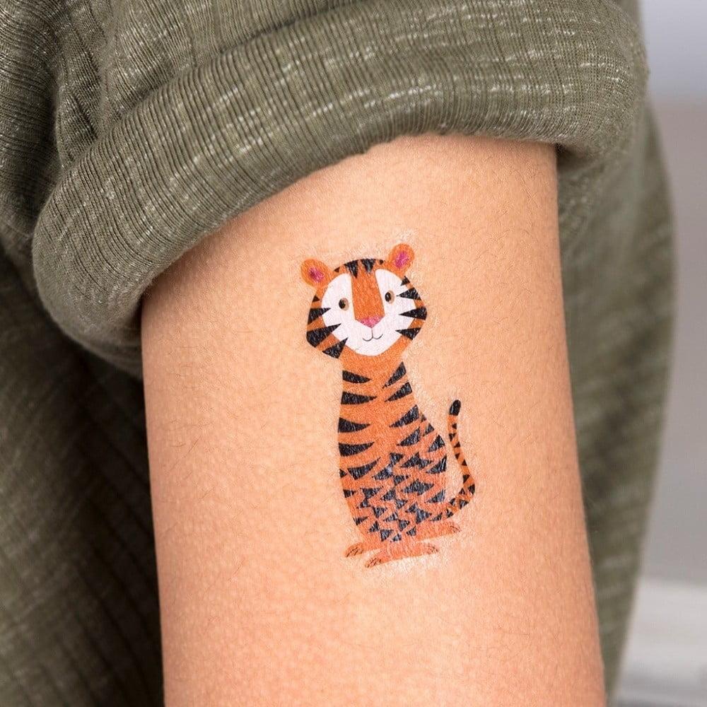 Tatuaże Zmywalne Rex London Colourful Creatures Bonami