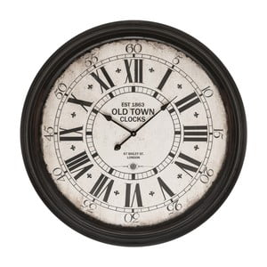 Zegar Black Wall Clock, 93 cm