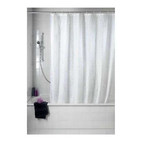 Zasłona prysznicowa Deluxe, biała