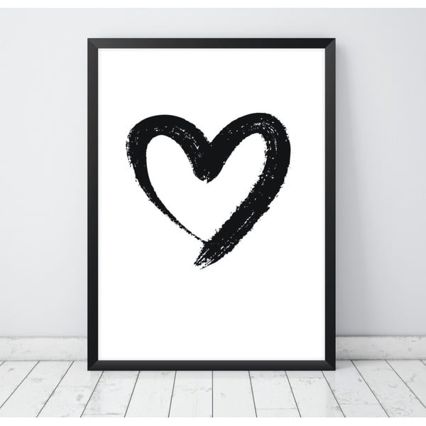 Plakat Nord & Co Heart, 30x40 cm