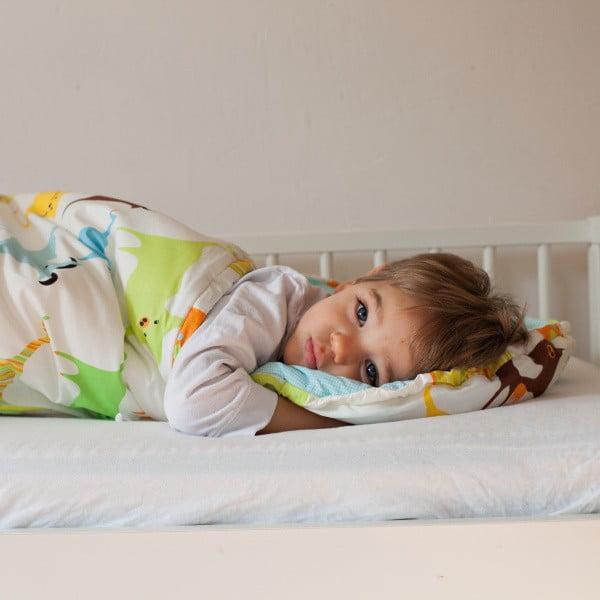Śpiwór dziecięcy Bartex Kolorowe zwierzątka, 70x200 cm