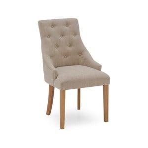Sada 2 béžových jídelních židlí VIDA Living Hobbs