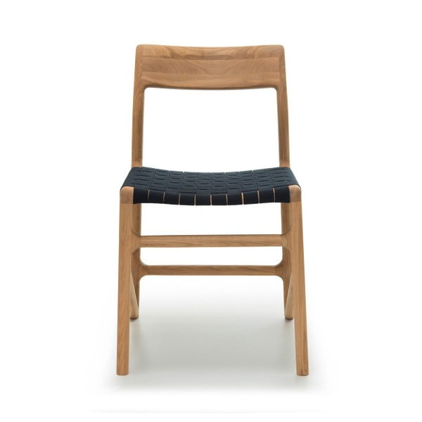Krzesło Fawn Natural Gazzda, czarne