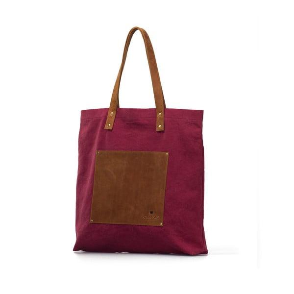 Bordowa torba skórzana vintage O My Bag Lou's
