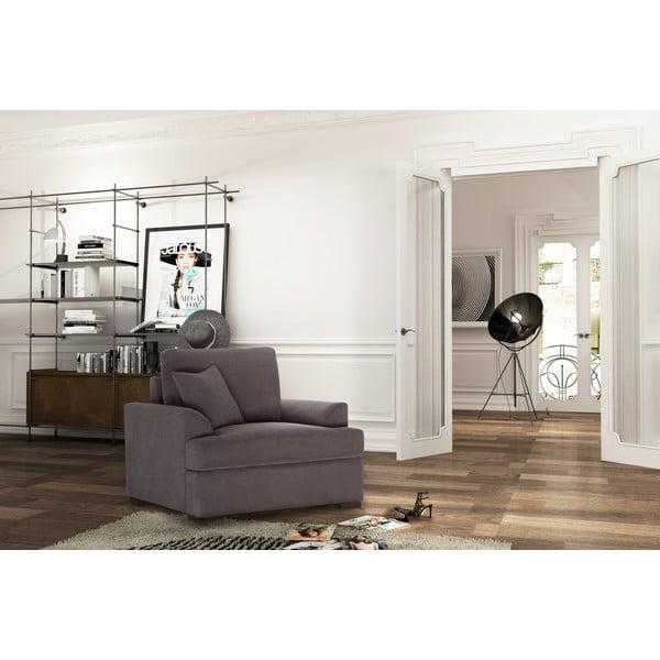 Fotel Jalouse Maison Irina, czekoladowy