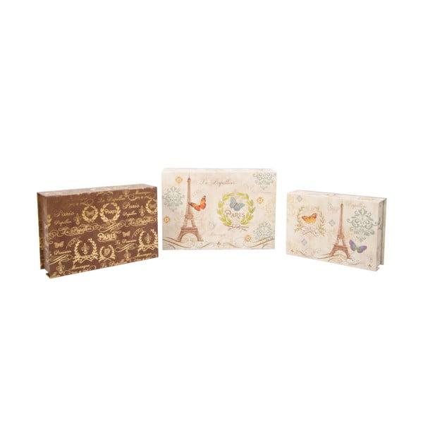 Zestaw 3 pudełek Spring in Paris