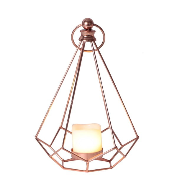 Miedziany lampion LED Best Season Dome