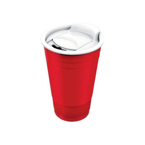 Kubek Fun Party Cup, czerwony