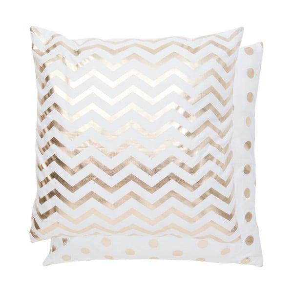 Poszewka na poduszkę Gold Lines, 50x50 cm