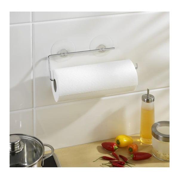 Uchwyt z przyssawkami na ręczniki papierowe Wenko Static-Loc