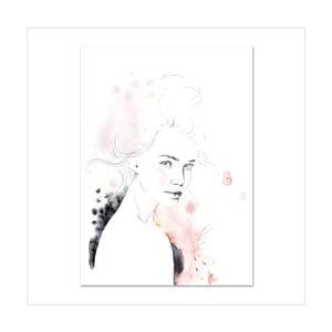 Plakat Leo La Douce Miss Louise, 21x29,7cm