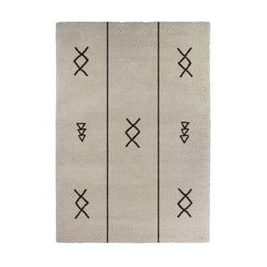 Beżowy dywan Calista Rugs Venice Symbols, 120x170 cm
